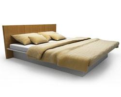 Zento เตียงนอน 5 white , wood